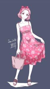 Rating: Safe Score: 17 Tags: dress nii_manabu summer_dress User: saemonnokami