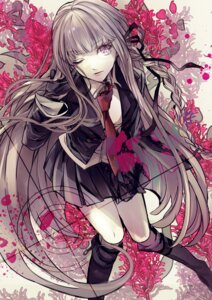 Rating: Safe Score: 42 Tags: dangan-ronpa enbi kirigiri_kyouko seifuku User: animeprincess