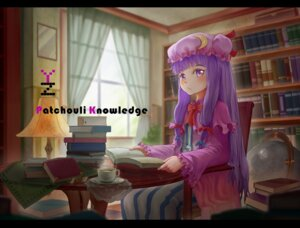 Rating: Safe Score: 15 Tags: patchouli_knowledge qianbi touhou User: Mr_GT