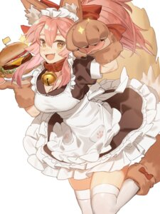 Rating: Questionable Score: 26 Tags: animal_ears fate/grand_order horimori maid nekomimi tail tamamo_cat thighhighs User: animeprincess
