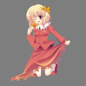 Rating: Safe Score: 11 Tags: aki_shizuha skirt_lift tokoringo touhou transparent_png User: Radioactive