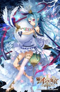 Rating: Safe Score: 24 Tags: apt dress heels koku_no_ishtaria pointy_ears tail thighhighs User: Mr_GT