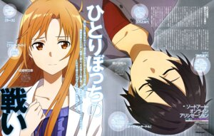 Rating: Safe Score: 22 Tags: aqua_inc. asuna_(sword_art_online) kirito sword_art_online sword_art_online_alicization User: drop