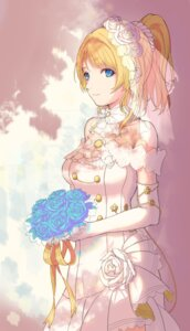 Rating: Safe Score: 39 Tags: ayase_eli blowblack@kke dress love_live! wedding_dress User: Mr_GT