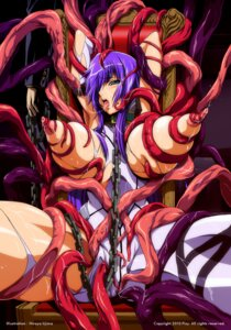 Rating: Explicit Score: 33 Tags: bodysuit bondage breast_grab breasts extreme_content iijima_hiroya lactation nipples pixy seifuku shion shion_(shion) tentacles torn_clothes wet User: blooregardo