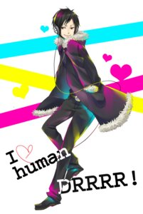 Rating: Safe Score: 9 Tags: ashiya durarara!! headphones male orihara_izaya User: Radioactive