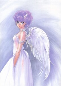 Rating: Safe Score: 5 Tags: angel creamy_mami dress mahou_no_tenshi_creamy_mami morisawa_yuu takada_akemi wings User: Radioactive