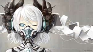 Rating: Questionable Score: 37 Tags: apple dr.beeeee headphones horns mecha_musume siri User: Humanpinka