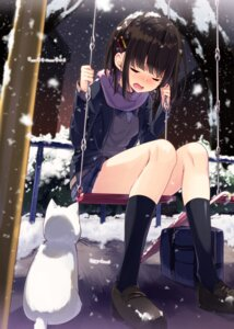 Rating: Safe Score: 44 Tags: neko sakuragi_ren seifuku sweater User: Mr_GT