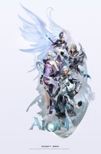 Rating: Safe Score: 17 Tags: aion armor cg jeong_juno nc_soft sword wings User: Dantares