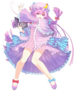Rating: Questionable Score: 28 Tags: mikoma_sanagi patchouli_knowledge touhou User: dyj