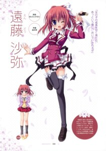 Rating: Safe Score: 35 Tags: endou_saya hontani_kanae kisaragi_gold_star saga_planets seifuku thighhighs User: crim