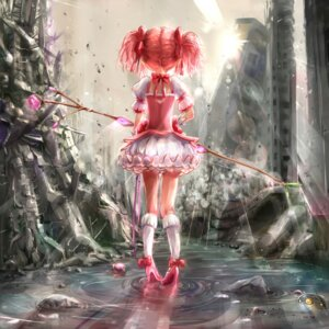 Rating: Safe Score: 43 Tags: dress heels kaname_madoka kntrs puella_magi_madoka_magica weapon User: Mr_GT