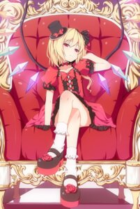 Rating: Safe Score: 136 Tags: d2c dress flandre_scarlet lolita_fashion touhou wings User: Mr_GT