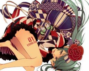 Rating: Safe Score: 49 Tags: hatsune_miku kimono macco vocaloid wallpaper User: yumichi-sama