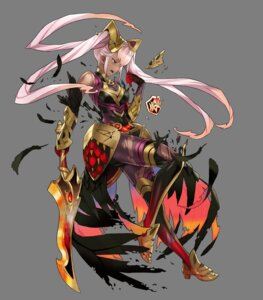 Rating: Questionable Score: 4 Tags: armor fire_emblem fire_emblem_heroes laevatein maeshima_shigeki nintendo sword torn_clothes transparent_png User: Radioactive