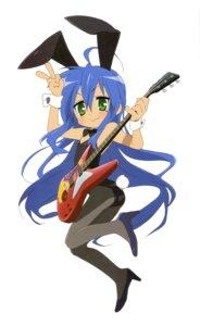 Rating: Safe Score: 19 Tags: animal_ears bunny_ears bunny_girl guitar horiguchi_yukiko izumi_konata lucky_star pantyhose User: Elow69