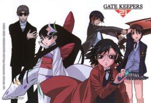 Rating: Safe Score: 3 Tags: gatekeepers gatekeepers_21 gotou_keiji hisame_(gatekeepers) houjou_yukino isuzu_ayane kageyama_reiji minazuru_miu tachikawa_satoka User: Radioactive