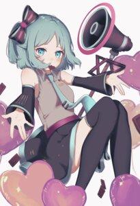 Rating: Safe Score: 19 Tags: #compass cosplay hatsune_miku peta_ru skirt_lift thighhighs vocaloid User: Munchau