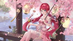 Rating: Questionable Score: 6 Tags: asian_clothes skirt_lift teatix thighhighs umbrella wet User: whitespace1