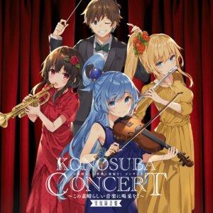 Rating: Safe Score: 21 Tags: aqua_(kono_subarashii_sekai_ni_shukufuku_wo!) darkness_(kono_subarashii_sekai_ni_shukufuku_wo!) disc_cover dress kono_subarashii_sekai_ni_shukufuku_wo! megumin mishima_kurone violin User: blooregardo