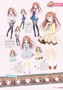 Rating: Safe Score: 40 Tags: amakara_surume character_design chibi digital_version dress expression himeno_sena kimishima_ao koi_kakeru_shin-ai_kanojo pantyhose seifuku us:track User: Twinsenzw