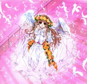 Rating: Safe Score: 5 Tags: clamp dress monou_kotori wings x User: Share