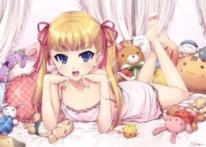 Rating: Safe Score: 61 Tags: feet lingerie mozuya_koto mozuya-san_gyakujousuru otsumami User: Radioactive