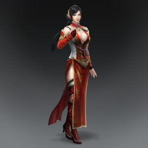 Rating: Safe Score: 11 Tags: asian_clothes cg cleavage dynasty_warriors dynasty_warriors_8 heels lian_shi no_bra thighhighs User: Radioactive