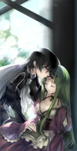 Rating: Safe Score: 34 Tags: c.c. cleavage code_geass creayus dress lelouch_lamperouge rangetsu User: charunetra
