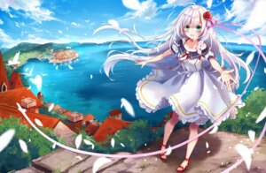 Rating: Safe Score: 45 Tags: dress heels kisaragi_yuri landscape tagme User: hiroimo2