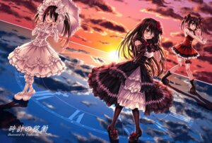Rating: Questionable Score: 40 Tags: bandages date_a_live dress eyepatch garter gothic_lolita lolita_fashion tokisaki_kurumi tsubasaki umbrella User: kiyoe