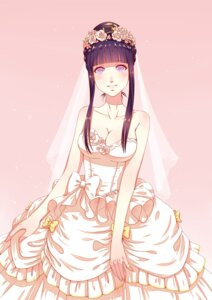 Rating: Safe Score: 50 Tags: cleavage dress haneru hyuuga_hinata naruto wedding_dress User: Mr_GT