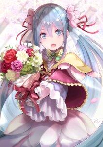 Rating: Safe Score: 66 Tags: dress hatsune_miku hoshizaki_reita signed vocaloid User: RyuZU