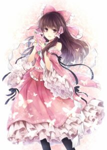 Rating: Safe Score: 51 Tags: hagiwara_rin hakurei_reimu touhou User: blooregardo