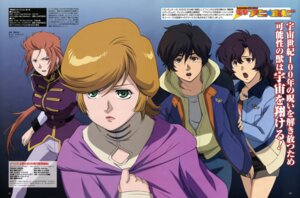 Rating: Safe Score: 5 Tags: audrey_burne banagher_links gundam gundam_unicorn marida_cruz micott_bartsch nozaki_shinichi uniform User: Shuugo