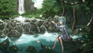 Rating: Safe Score: 25 Tags: cloudy.r kawashiro_nitori landscape touhou User: Radioactive