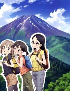 Rating: Safe Score: 14 Tags: kuraue_hinata landscape megane pantyhose saitou_kaede_(yama_no_susume) yama_no_susume yukimura_aoi User: drop