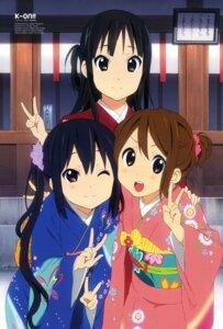 Rating: Safe Score: 62 Tags: akiyama_mio hirasawa_yui horiguchi_yukiko kimono k-on! nakano_azusa User: SubaruSumeragi