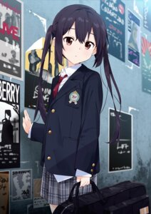Rating: Questionable Score: 36 Tags: k-on! moso nakano_azusa seifuku User: Mr_GT