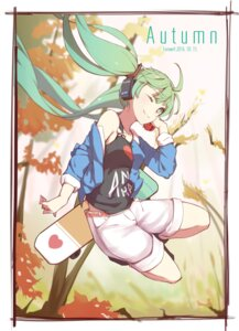 Rating: Safe Score: 47 Tags: hatsune_miku headphones vocaloid zhayin-san User: charunetra