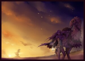 Rating: Safe Score: 20 Tags: celes_chere chocobo final_fantasy final_fantasy_vi torigoe_takumi User: fairyren