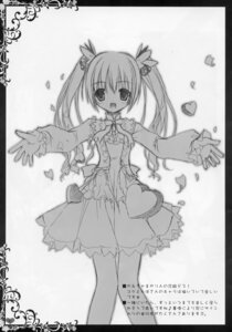 Rating: Safe Score: 12 Tags: dress monochrome sketch tinkle User: RICO740