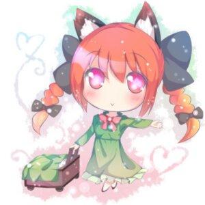 Rating: Safe Score: 9 Tags: amatsuki_hotaru animal_ears chibi kaenbyou_rin nekomimi touhou User: Nekotsúh