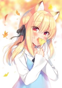 Rating: Safe Score: 36 Tags: animal_ears boku_no_risou_no_isekai_seikatsu chise_(ichiri) dress ichiri kitsune User: john.doe