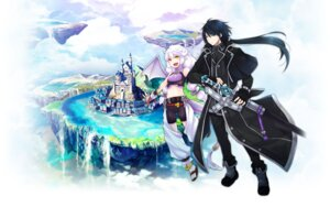 Rating: Safe Score: 17 Tags: ayakura_juu gyakushuu_no_dragon_rider landscape sword tail wallpaper wings User: 23yAyuMe