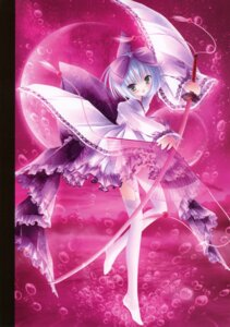 Rating: Questionable Score: 33 Tags: lolita_fashion nopan stockings sword thighhighs tinkle wa_lolita User: fireattack