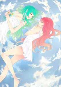 Rating: Safe Score: 19 Tags: ass dress feet gumi megurine_luka pantsu summer_dress tagme vocaloid wet User: charunetra