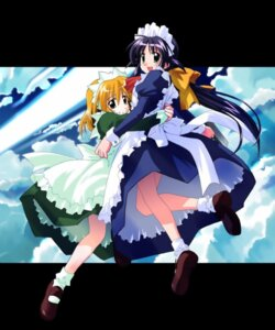 Rating: Safe Score: 6 Tags: andou_mahoro andou_minawa mahoromatic maid tagme User: Radioactive