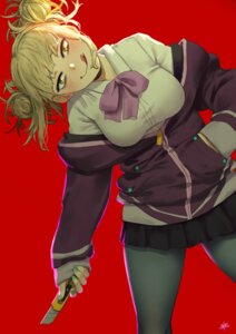 Rating: Safe Score: 16 Tags: boku_no_hero_academia cosplay pantyhose seifuku shinjou_akane ssss.gridman steamy_tomato toga_himiko weapon User: RyuZU